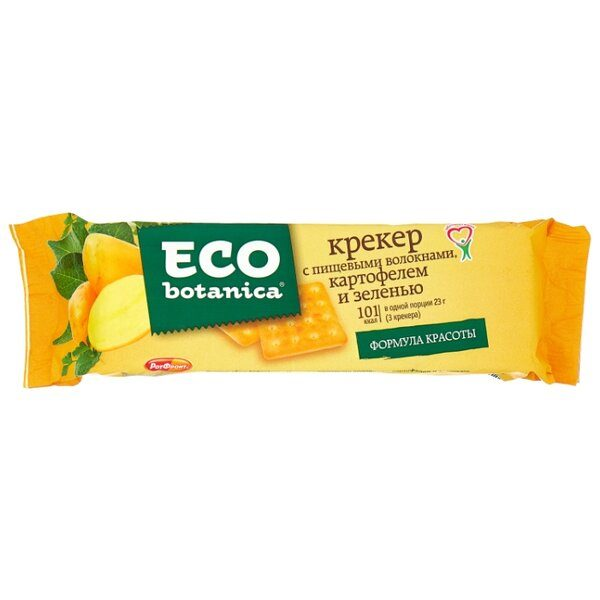 """Крекер """"Eco Botanica"""" 175г Картофель и зелень"""