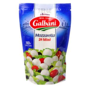 "Сыр ""Моцарелла"" Galbani мини 150г"
