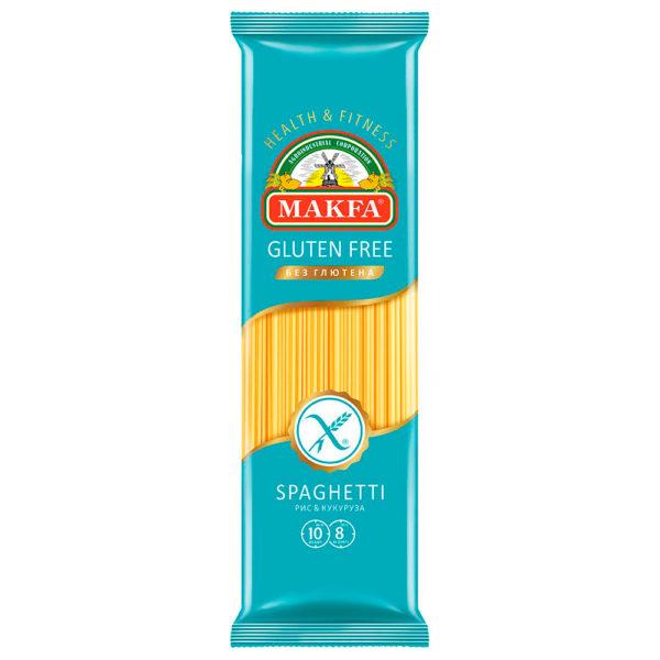 """Макаронные изделия """"Макфа"""" Безглютеновые Спагетти 300г"""
