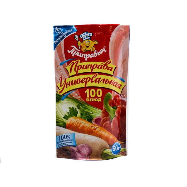 Приправыч Универсальная приправа 100 блюд 60г