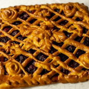 Пирог с конфитюром