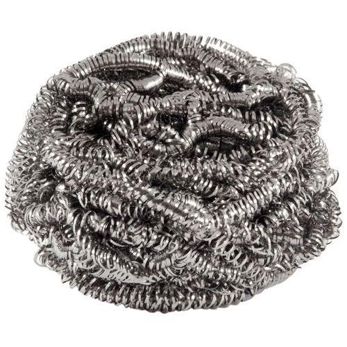 Мочалка для посуды металлическая спираль 1шт ClearLine