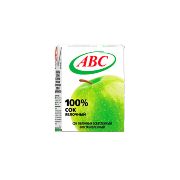 ABC сок/нектар 0,2л Яблоко