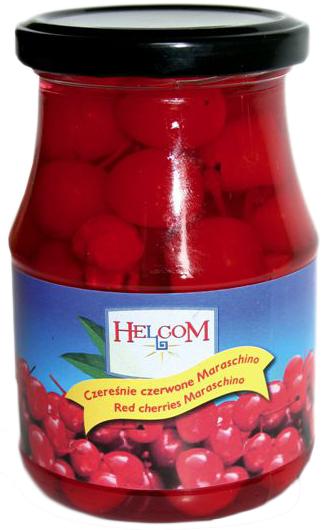 """Черешня коктейльная """"Helcom"""" в сиропе 370г"""