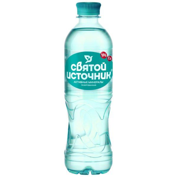 """Мин.вода """"Святой источник"""" газ 1,5л Активные минералы"""