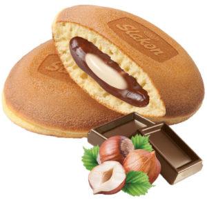 """Оладьи """"Панкейк"""" с орехово/шоколадной начинкой 500г"""