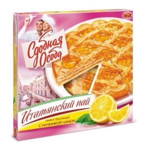 """Пирог """"Сдобная Особа"""" Итальянский пай Лимон 400г"""