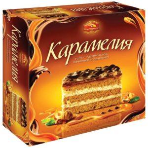 """Торт """"Черемушки"""" Карамелия 400г"""