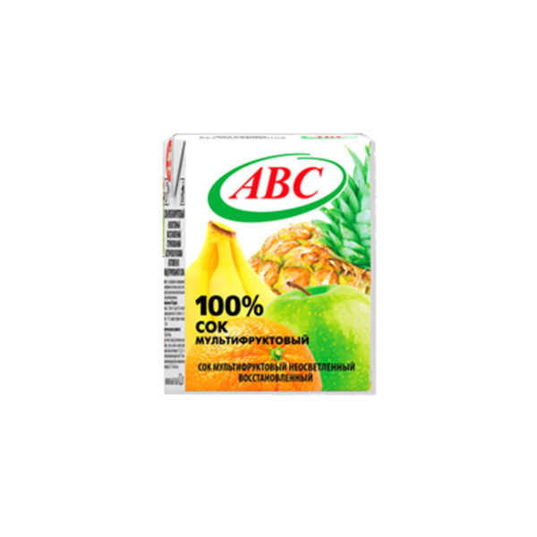 ABC сок/нектар 0,2л Мультифрукт