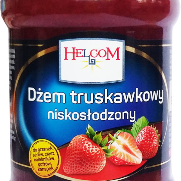 """Джем """"Helcom"""" клубничный 320г"""