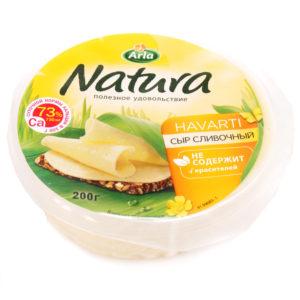"""Сыр """"Natura"""" сливочный 200г"""