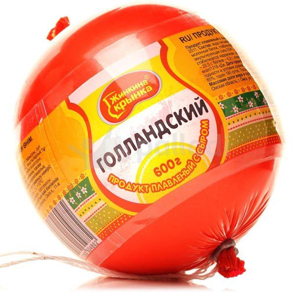 """Плавл. сыр """"Жинкина Крынка"""" Голландский 600г"""