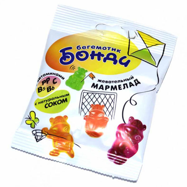 "Жев.мармелад ""Бегемотик Бонди"" 30гр"