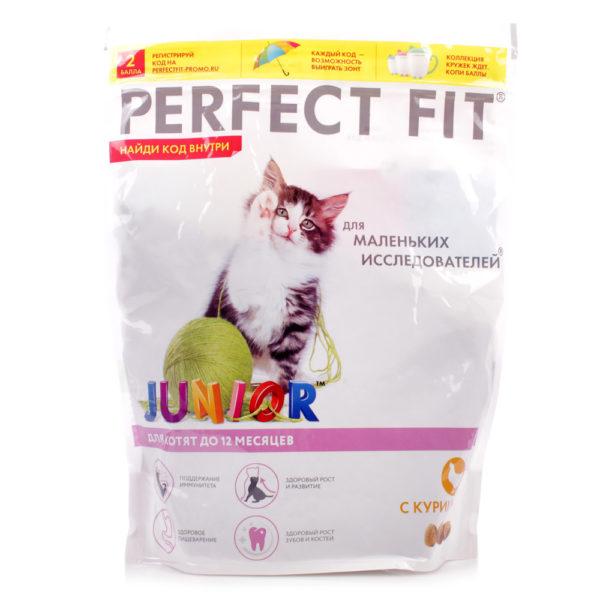 ПерфектФит для котят от 2 до 12 месяцев Курица 650г