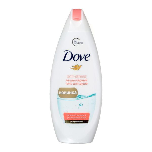 """Гель для душа """"Dove"""" Антистресс 250мл"""