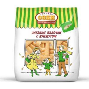 """Хлебные палочки """"Семейка Озби"""" с кунжутом 150г"""
