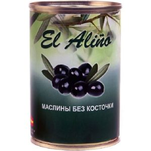 "Маслины ""El Alino"" б/к 270г"